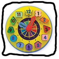Scamps Pre-school Clock